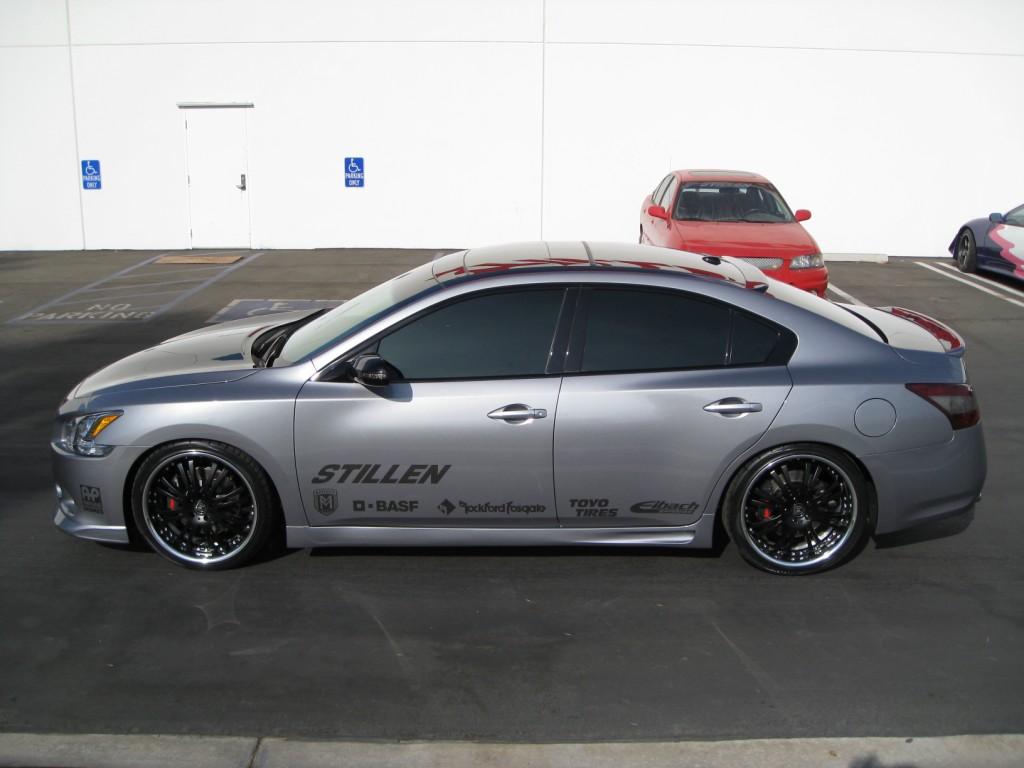 Nissan Maxima 2009 Black kit  VQpower com